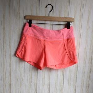 Lululemon run time shorts sz 4